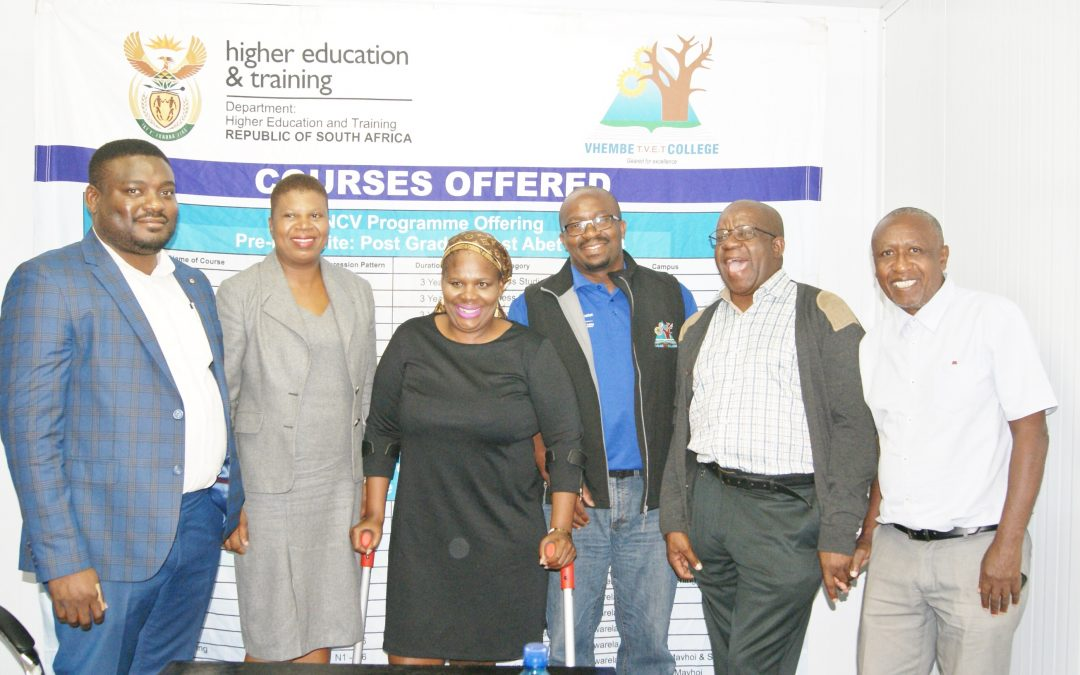 Vhembe TVET College Musina Campus a reality