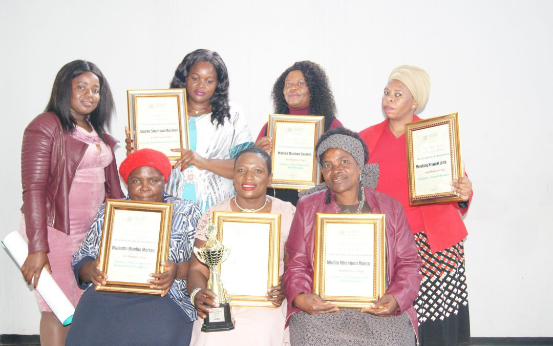Musina female farmers scoop various prizes