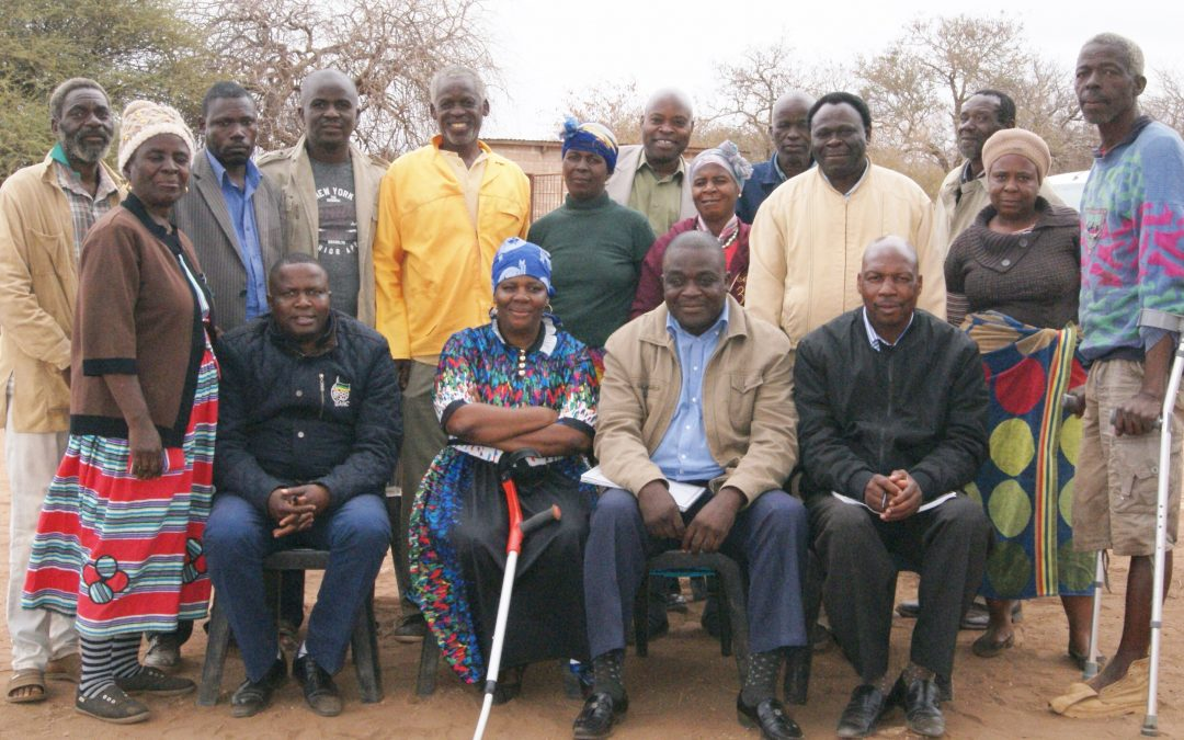Sigonde community discuss service delivery with municipal leadership