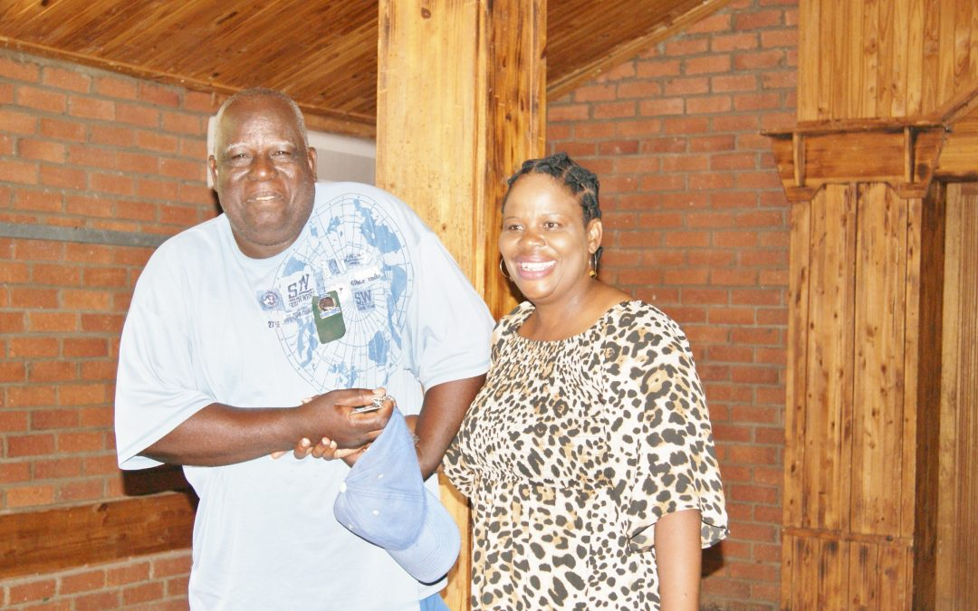 Beneficiaries get their house keys